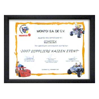 MONTOI  S.A. DE C.V. SUPPLIERS KAIZEN EVENT NOVEMBER 2007